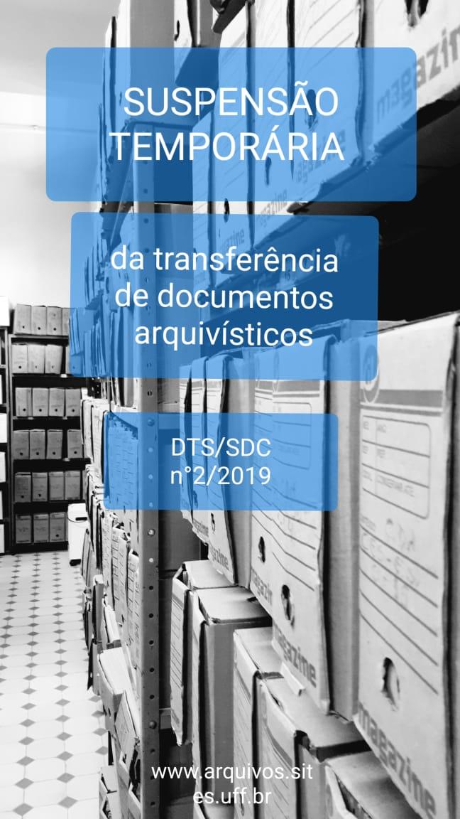 Suspensão Temporária de Transferência de  Documentos para CAR